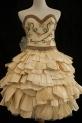 "Georgia Panagiotidis won a Gold Key in Fashion for her Bean/Cornstalks dress called ""The Girl from Studio 206."""