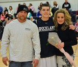 Jake Burns with his parents