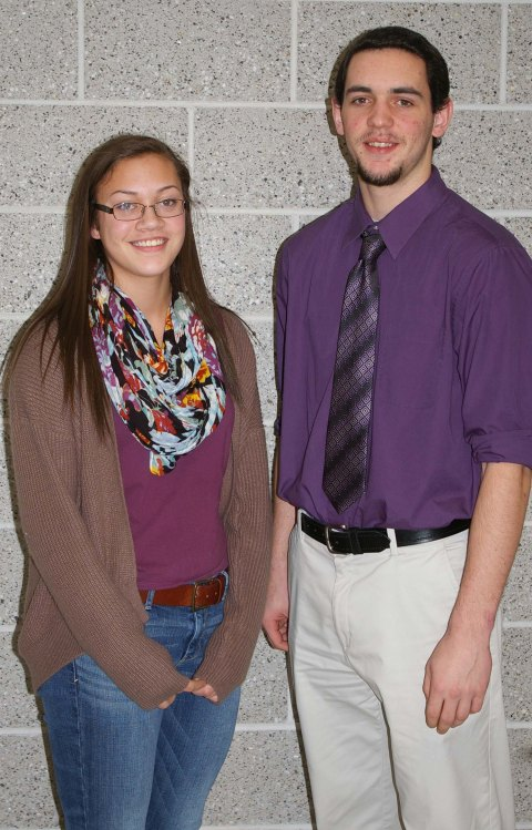 Basketball players, Kyra Rose and Matt Nicholson were selected as Players of the Year in the South Shore League.