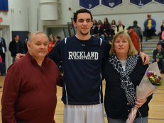 Matt Nicholson with his mom and dad.