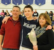 Steve Gauthier with his parents