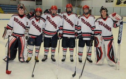 senior hockey players