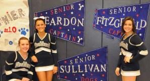 Kate Sullivan, Haley Reardon and Sarah Fitzgerald