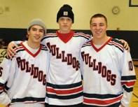 Left to Right: Shawn Kane, Tim Daggett, Andy Reardon