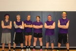 Purple Cobras RJ Johnston, Jonathan Turner, Brianna Starkey, Ally Cerrato, Andy Reardon and Matt Nicholson