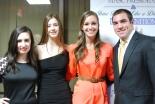 Juniors Nicole Cook, Jenna Novio, Katie Delorey, and Dennis McPeck