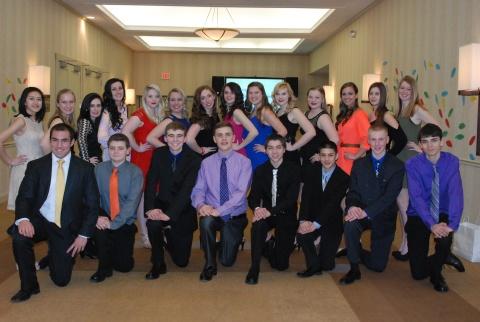 RHS SGC members at MASC in March.