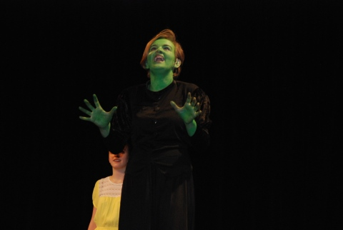"Leah DeCecco performs ""Defying Gravity"" from the musical ""Wicked"""