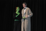 "Ella Engle and Ian Haas perform ""Wonderful"" from the musical ""Wicked"""