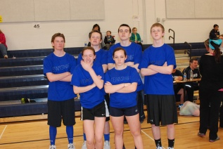 Team Snipe (back row from left) Mike Leavitt, Harrison Shields, Matt Clougherty, Andrew Frazer (front from left) Maddie Olsen, Angela Turner