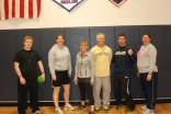 Team Stray Cats (from left) RHS student Josh Keating, and staff Jennifer Wozniak, Sue Phelps, Tim Wells, Alan Cron, and Sharon McGonnigal