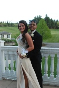 Kiera Tobin-Rosman and Leshon Crawford