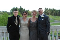 Richie Walls, Kelsey Daggett, Molly Garrity and Dennis McPeck