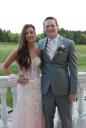 Jenna Novio and Harrison Shields