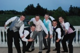 Jared Quirk, Mike Leavitt, Harrison Shields, Andrew Frazer, Dylan Bernache, and Pearse McNally