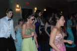 Ben McKenna, Danielle Hill, Rachael Spinney, Natalie Ellard and Kelsey Joyce on the dance floor