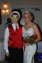 Junior Prom King Cameron Stuart and Queen Brianna Starkey