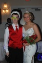 Junior Prom King Cameron Stuart and Queen Brianna Starkey