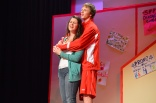 With Andrew Frazer in High School Musical