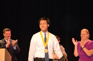 Jon Soo Hoo was Valedictorian of the Class of 2014