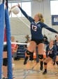 Senior captain Brianna Starkey in a game vs. Hingham earlier this year.