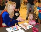 Haley Macray and a princess
