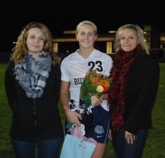 Kallie Morss with her mom, Michelle and her sister Kerynn
