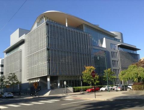 MIT Media Lab (Photo by Haley Macray)
