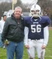 #56 Michael Mignosa with his father George