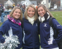 Maddie Daly, Krystin Killion and Kelsey Girard