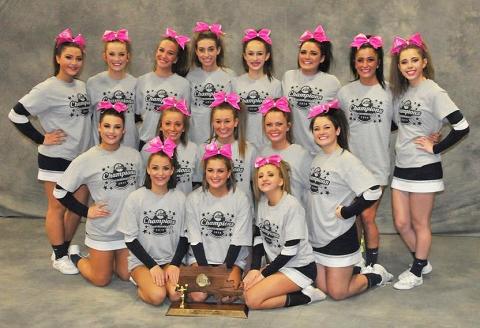 cheerleaders formal shot