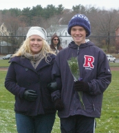 Ian Welch with his mom, Nancy Welch