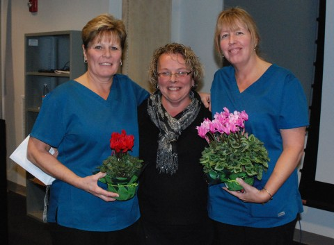 Kathy Knight, Adele Leonard and Beverly Boughter