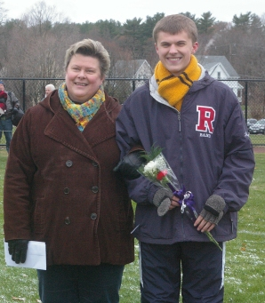 Markus Rohwetter with his mom, Jan Rohwetter