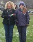 Samantha Poirier with her mother, Lisa Poirier