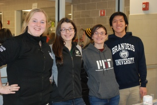 Kayla Frazer, Lisa Howes, Lauren Scott, and Jon Soo Hoo