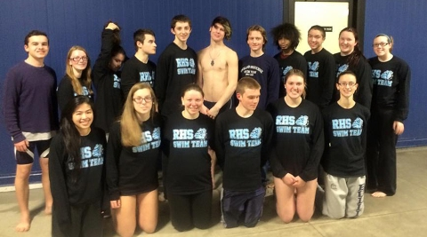 The Rockland High School Swim Teams