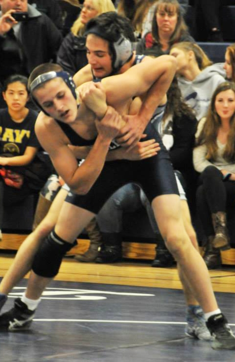 Brad Gasdia will compete in All-States this weekend. photo by Kelley Reale