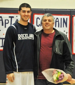 Mike Doherty with his dad.