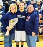 Joe Reardon and his parents