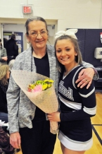 Krystin Killion and her mom.