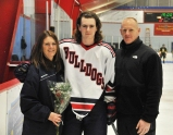 Shane Hurley with his Mom and Dad