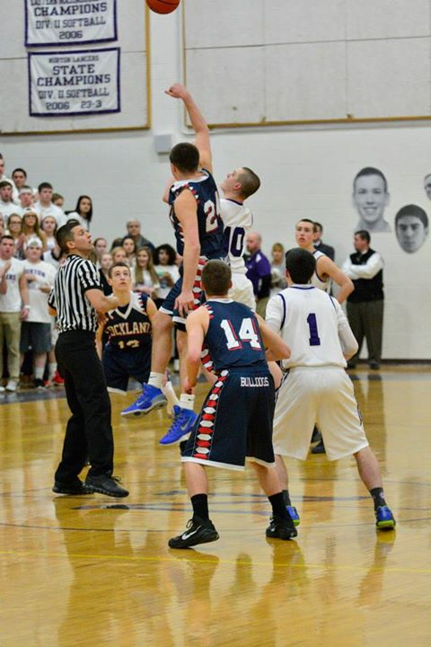 Tip-off Thursday night in Norton as the Dogs went up against the Lancers.