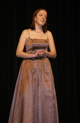 "Ella Engle sings ""Wishing You Were Somehow Here Again"" from Phantom of the Opera."