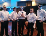 RHS SGC boys, Adam Royle, Ryan Sugrue, Jeffre Donahue, Shawn Ward, and Aiden Glennon at the lip sync competition