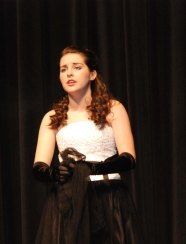 "Sophie McClellan sings ""Think of Me"" from the Phantom of the Opera."