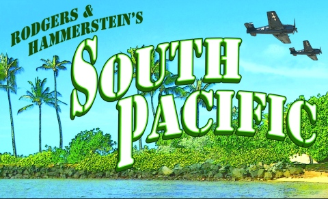 South Pacific with background