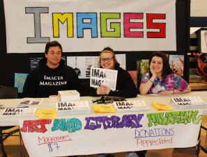 Austin Ferrullo, taylor Whitley, and Alyssa Hatch represent Images Magazine
