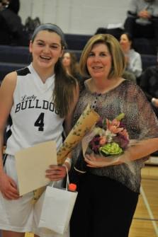 Kara Penney with her mom