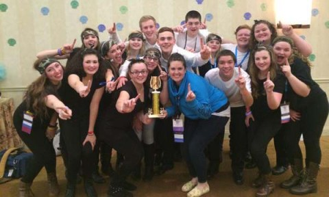 Student Government won the lip sync contest at MASC.    Photo courtesy of Katie Delorey